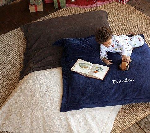 Chamois Floor Pillow | Pottery Barn Kids | Future home | Pinterest