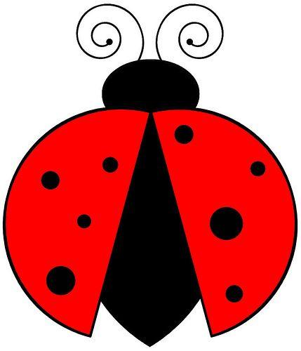 a559ce1119 Risco - Joaninha / Pattern - Ladybug | fotos para quadrinhos ...