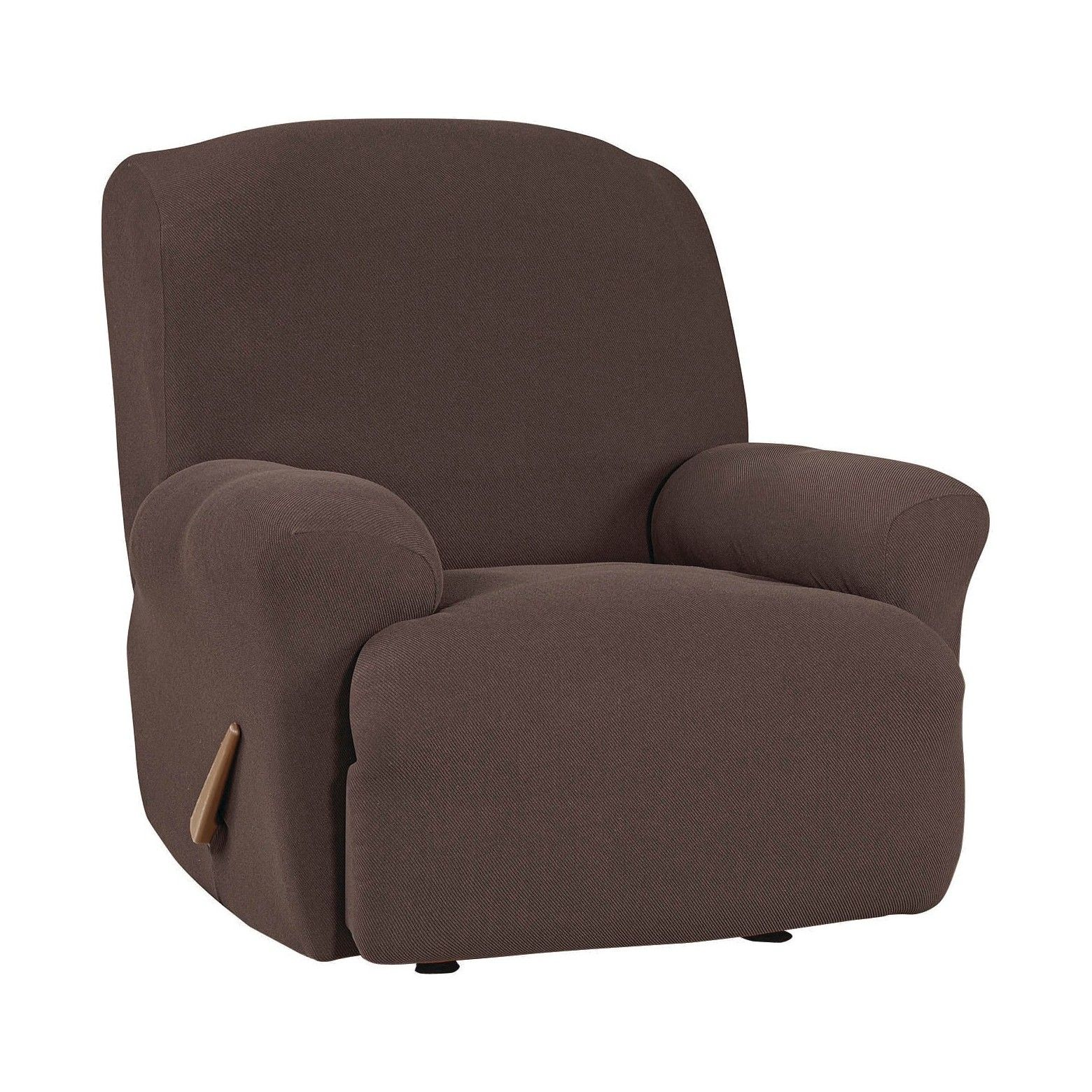 Stretch Twill Recliner Slipcover Sure Fit Recliner