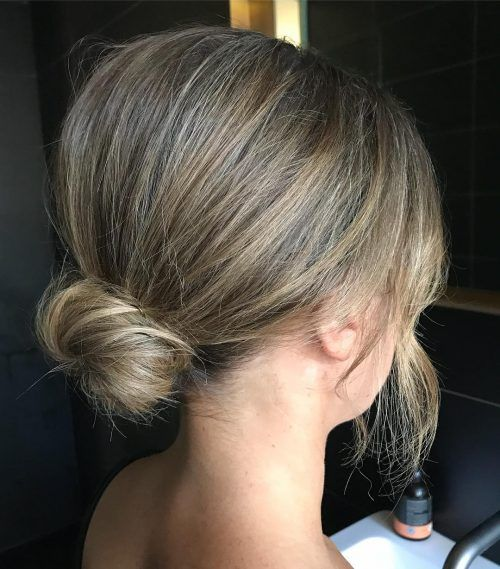 21 Super Easy Updos for Beginners to Try in 2020 | Easy ...