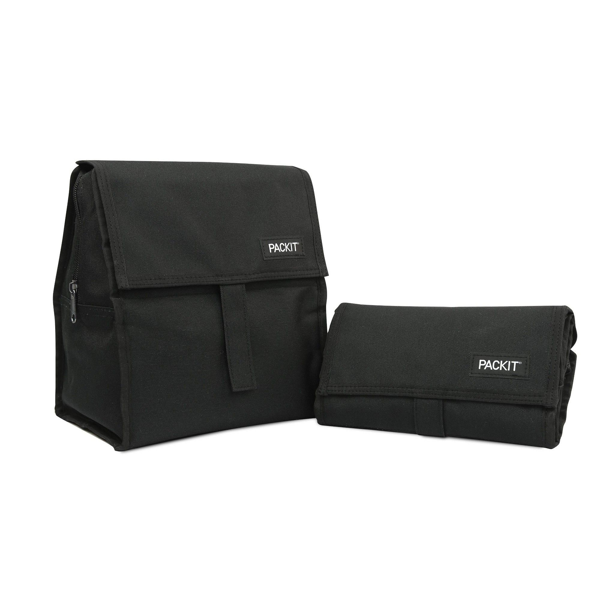 Packit Freezable Lunch Sack Black In 2020 Best Lunch Bags Kids