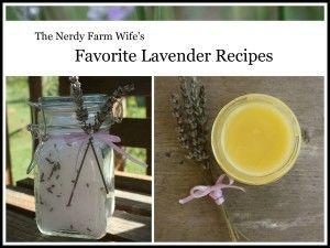 Free Favorite Lavender Recipes ebook!