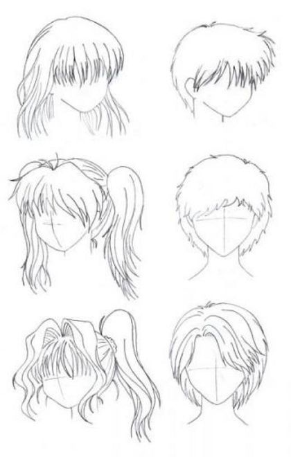 Aprende A Dibujar Un Cuerpo Humano Ropa Anime Y A Colorear Drawing For Beginners Manga Hair How To Draw Hair