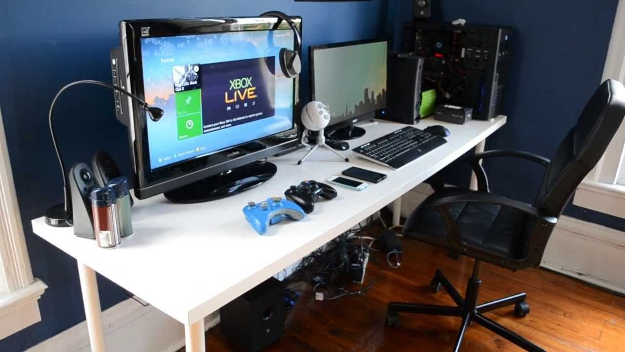 gaming office desk. plain office gamingdesk setup 2013 on gaming office desk e
