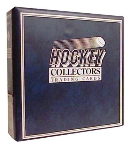 Ultra Pro 3 Ring D Ring Binder Blue Hockey Card Album By Ultra Pro