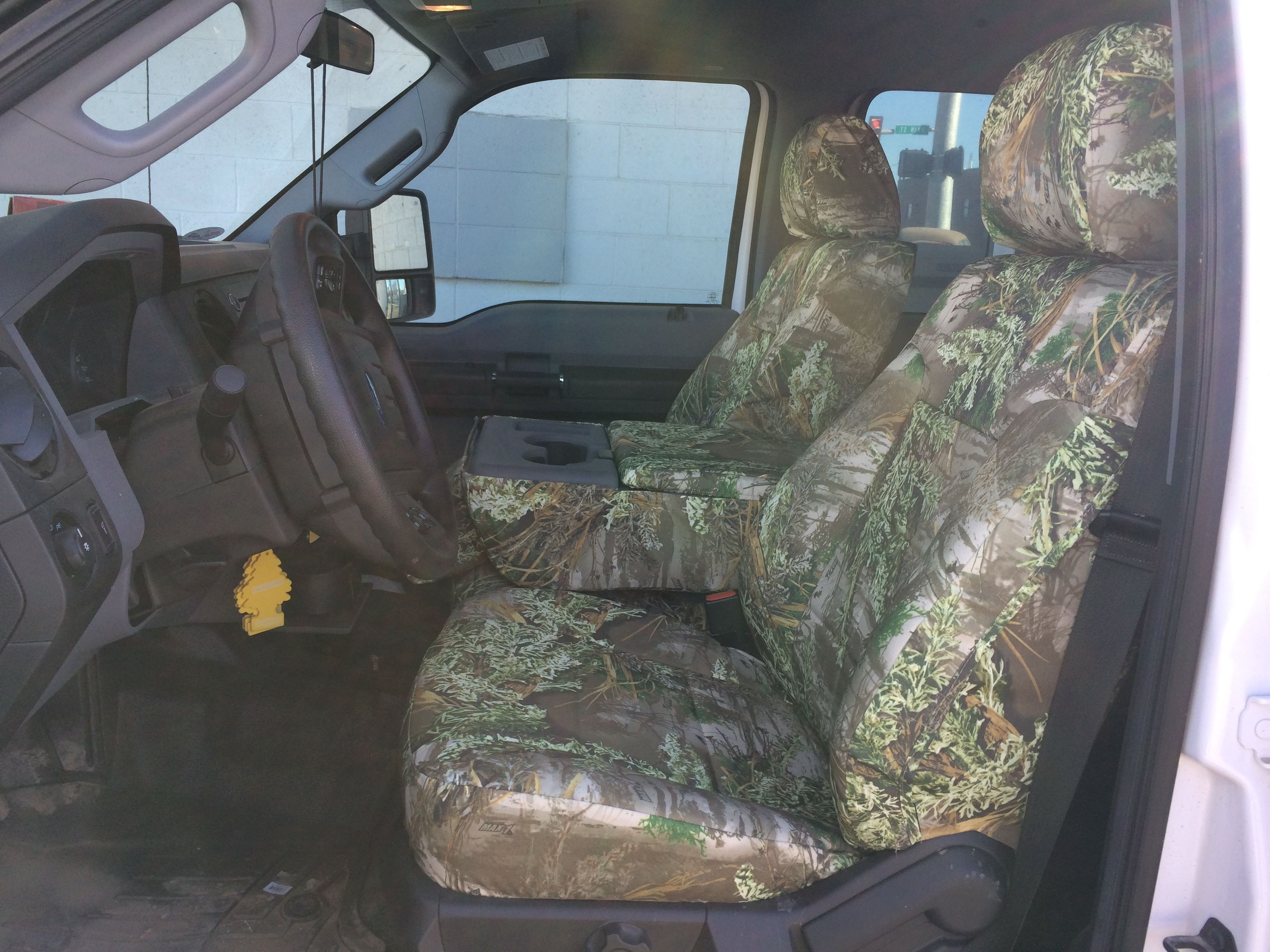 2014 Ford F 350 Realtree Max 1 Camo Custom Seat Covers