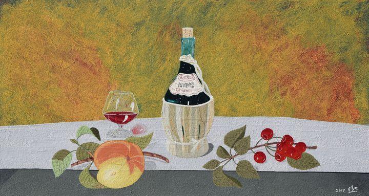 Taste of Summer - braum's work - Paintings & Prints Ethnic Cultural & Tribal… | ArtPal thumbnail