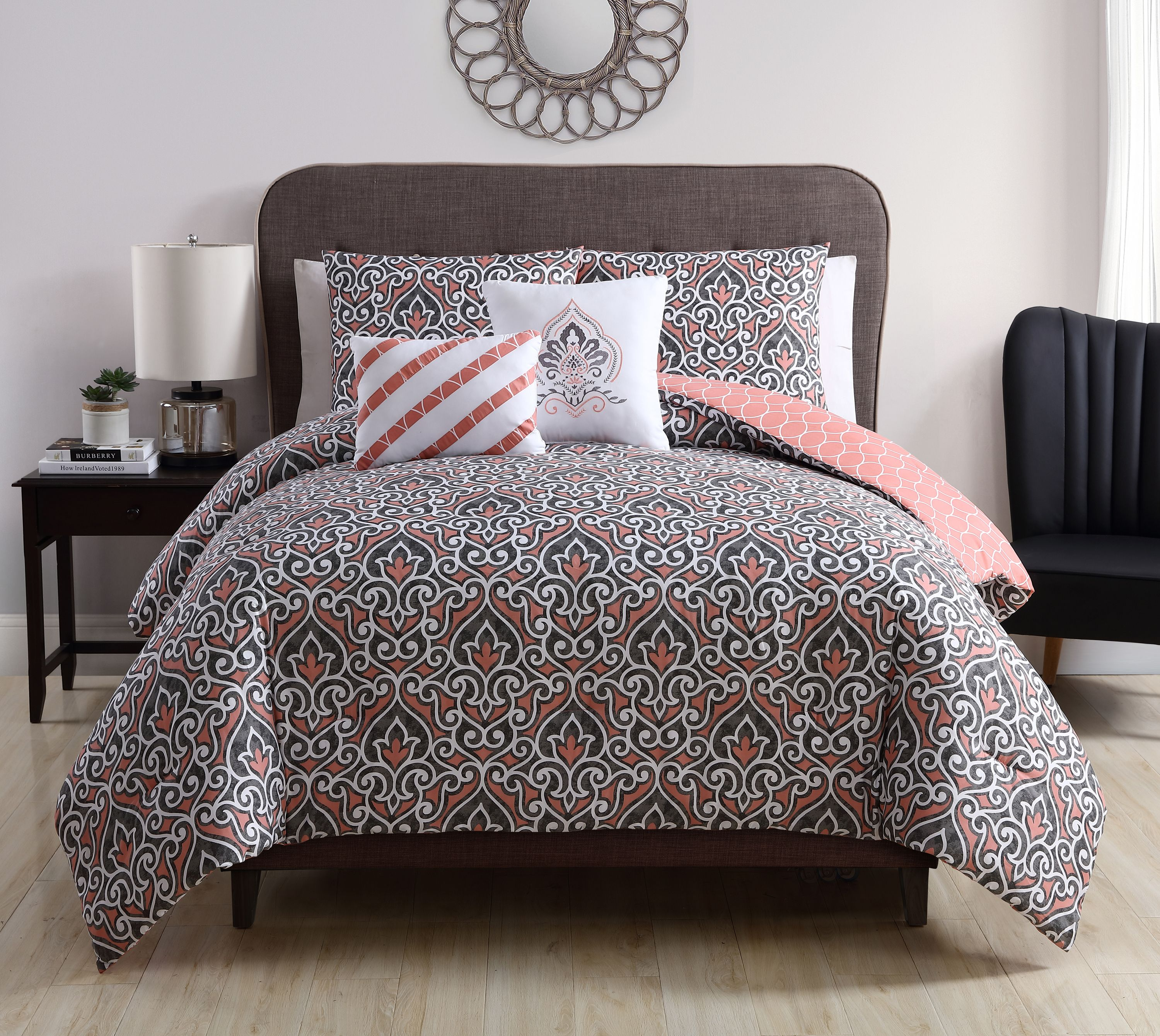 overstock product classics on shore alternative shipping over reversible bedding porch down home free orders piece comforter bennett belmont den bath set