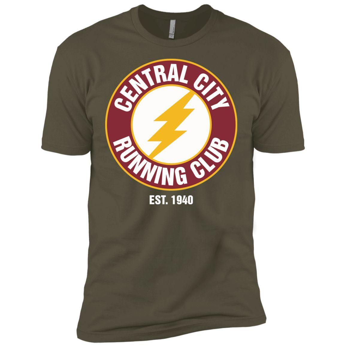 Central City Running Club T Shirt -01 Next Level Premium Short Sleeve Tee