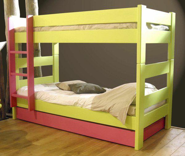 hochbett im kinderzimmer 100 coole etagenbetten fr kinder - Etagenbett Couch Lego Film