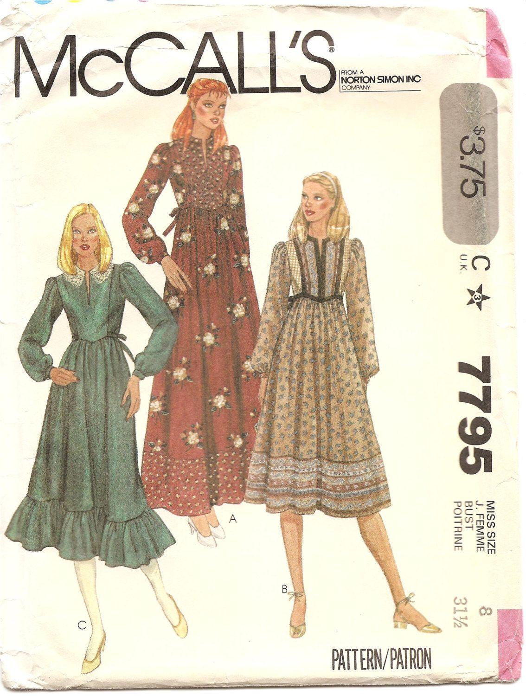 patron couture 1980