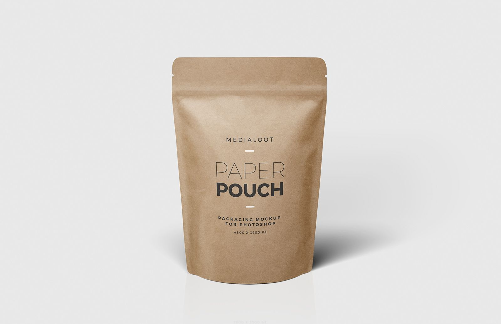 Download Free Paper Pouch Packaging Mockup Paper Pouch Pouch Packaging Packaging Mockup