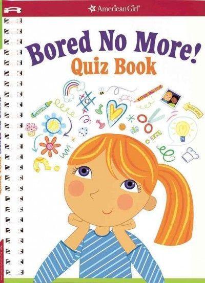 Bored No More! Quiz Book