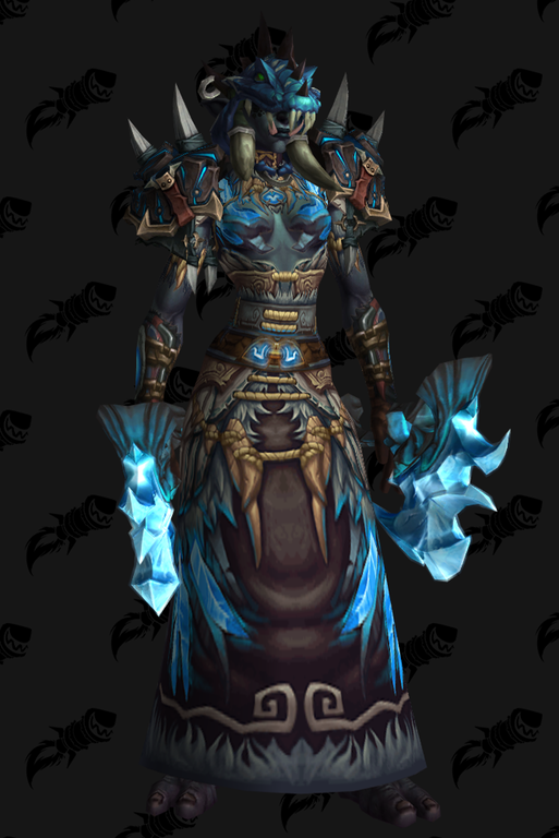 Zandalari Raptor Shaman Transmogrification Warcraft