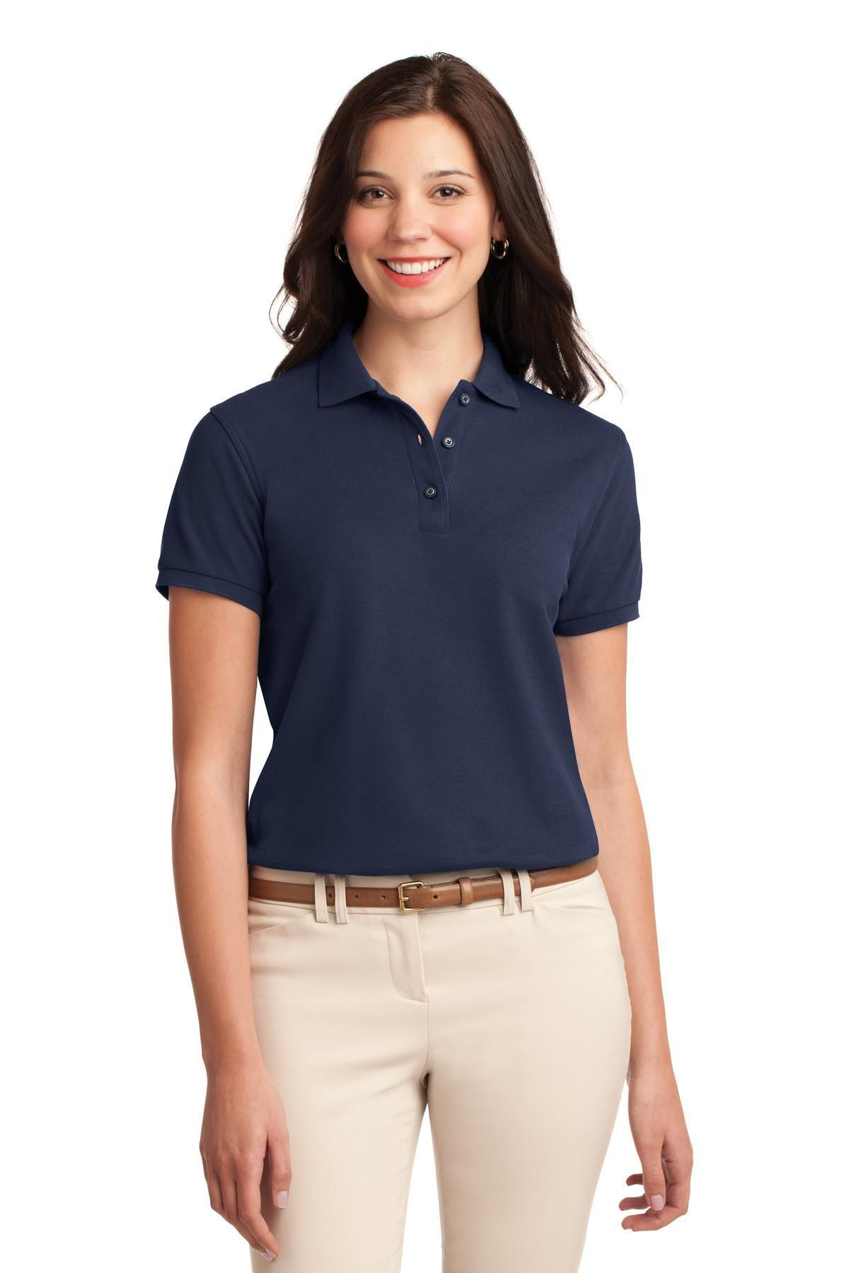 db3a0d3c70f706 Navy Silk Shirt Ladies – EDGE Engineering and Consulting Limited
