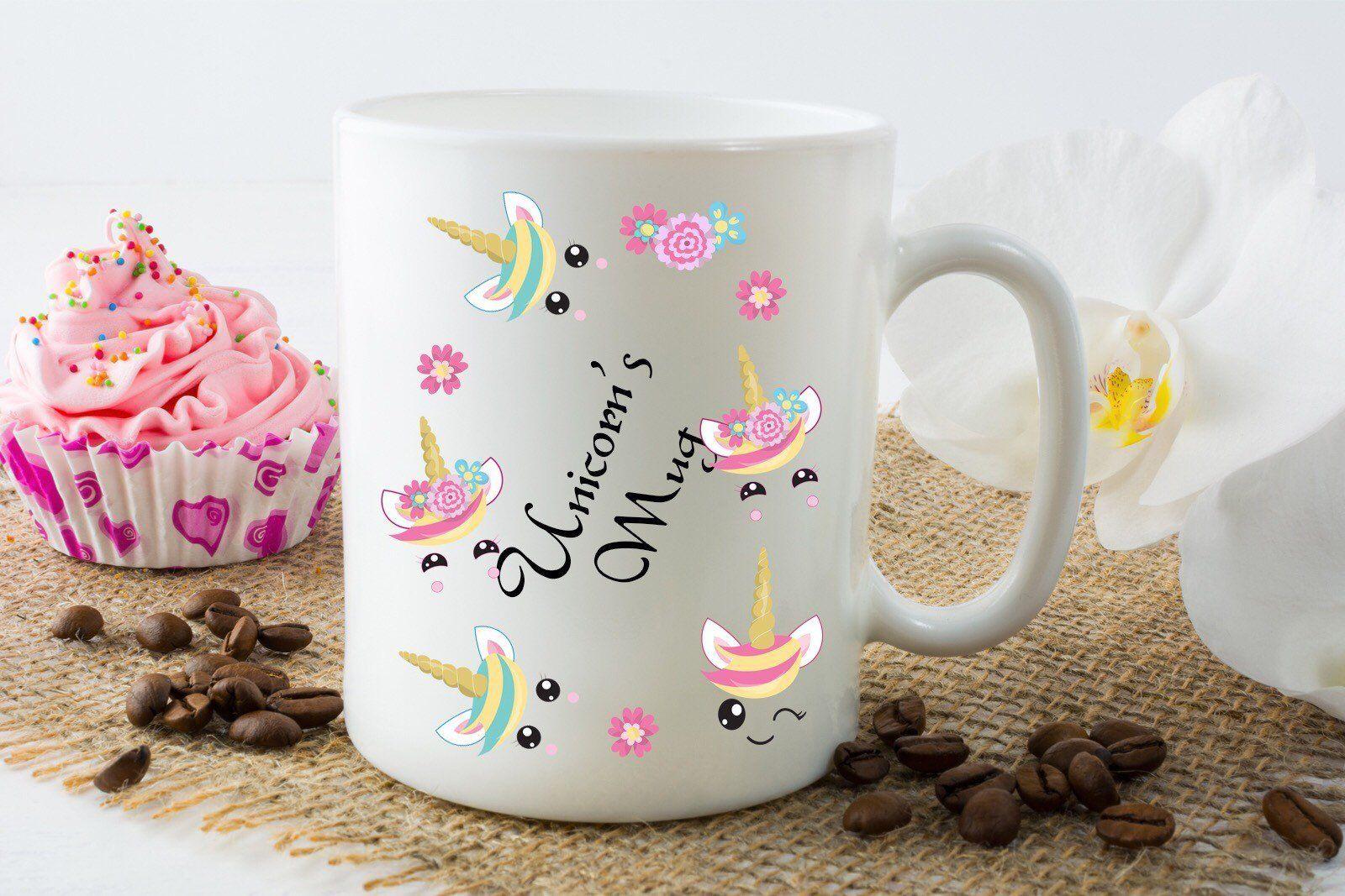 Unicorn S Mug Kids Tea Mugs In 2020