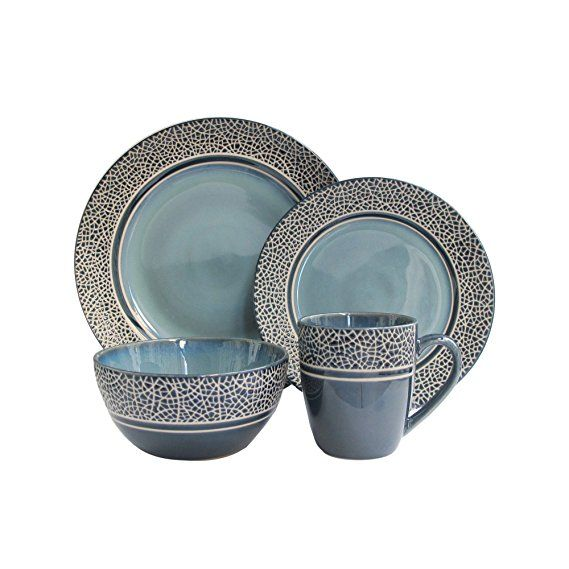 American Atelier Mosaic Dinnerware Set |Kitchen Dinnerware  sc 1 st  Pinterest : trendy dinnerware sets - pezcame.com