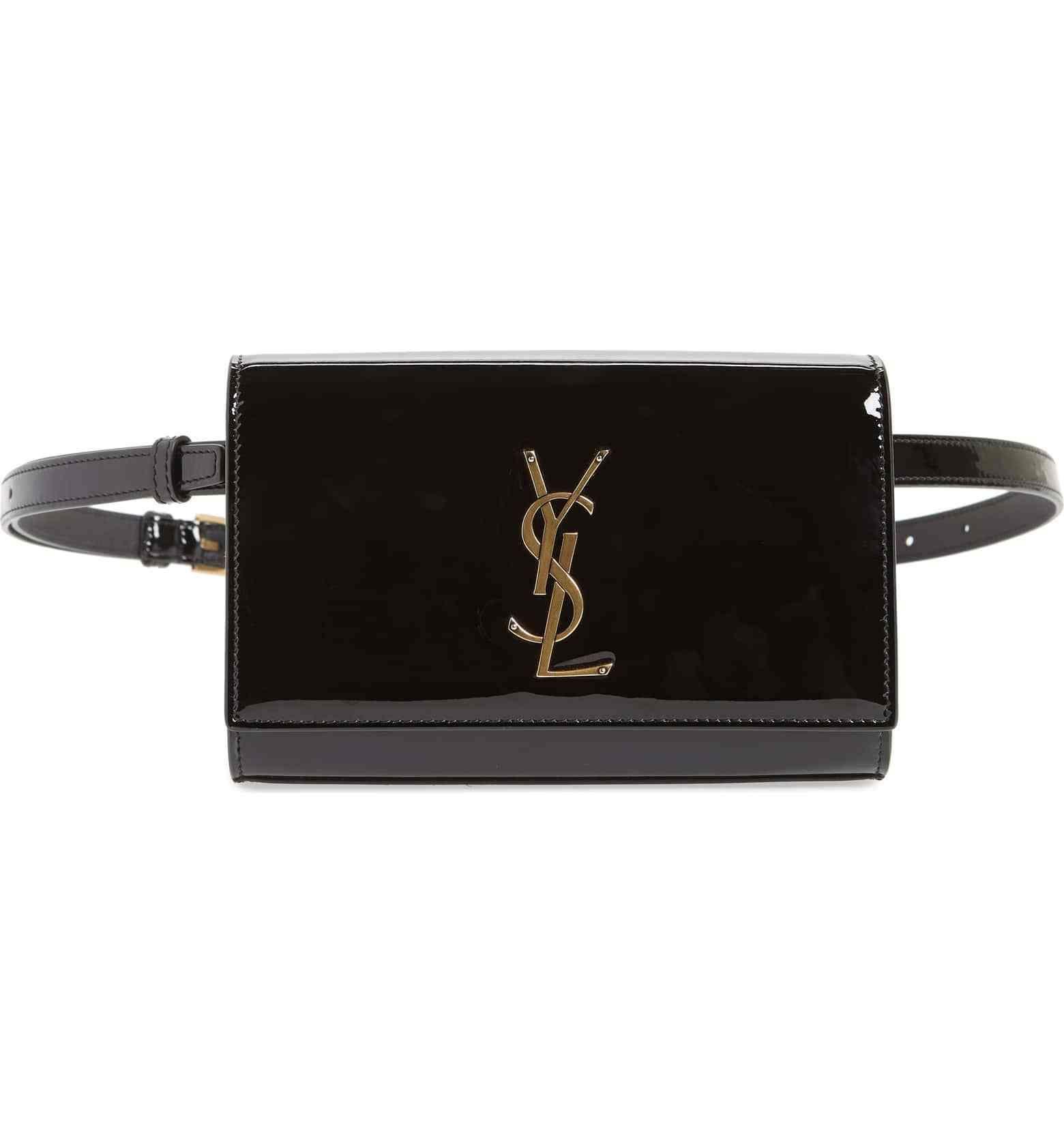 8f5d16f58bef Saint Laurent Belt Bag Kate Patent #saintlaurent #beltbag #fannypack  #designer #bag #ysl #shop #styleinspiration #shopping