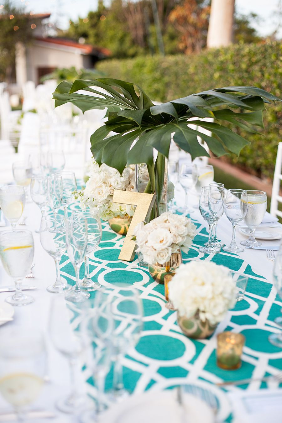 Modern Garden Party in Southern California Rustic