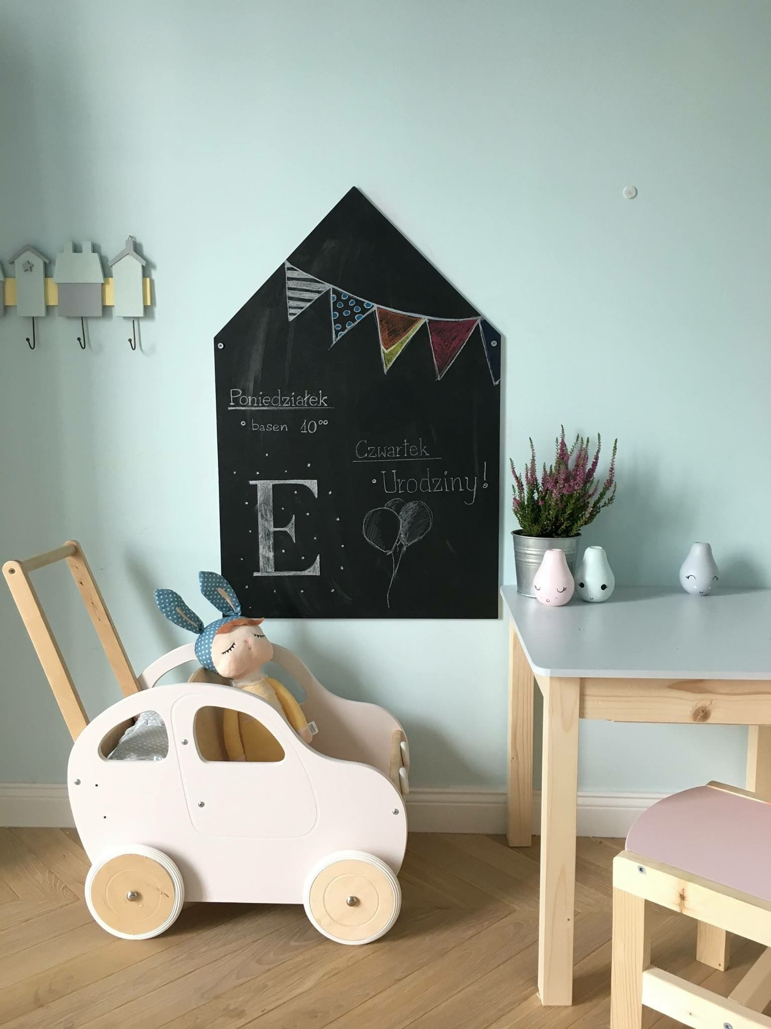Push Car Wooden Toy Walker And Chalkboard From Babyuniquecorn Wwwbabyuniquecorncom