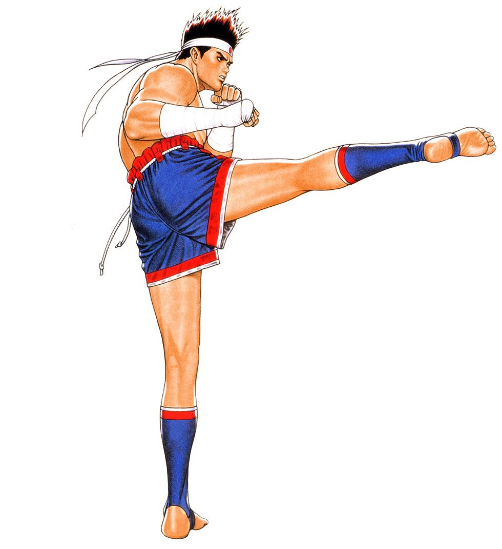 joe higashi art real bout fatal fury special art gallery king of fighters capcom vs snk fighter joe higashi art real bout fatal fury