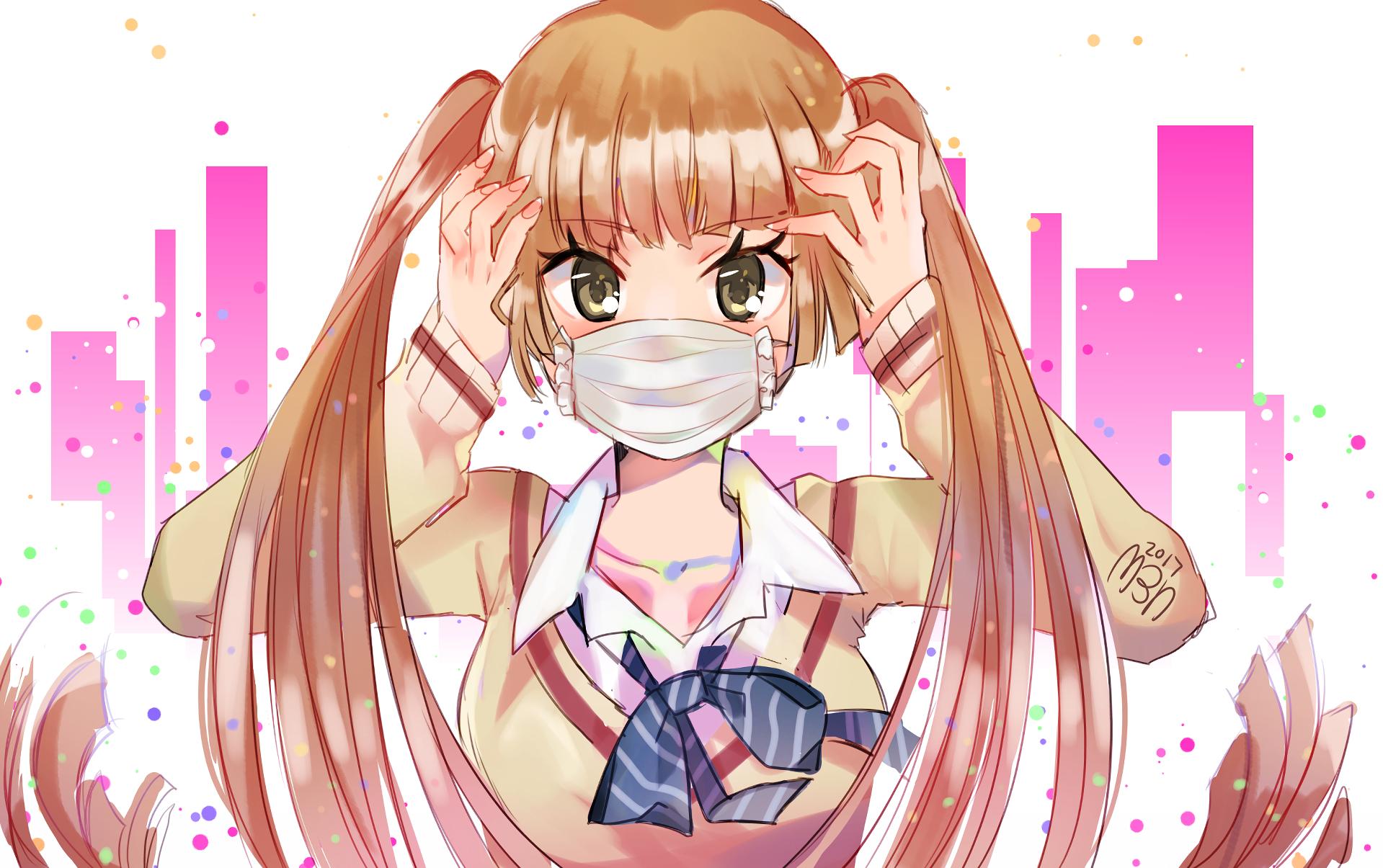 Anime Fukumenkei Noise Nino Arisugawa Wallpaper