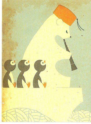 Happy animal time postkaarten - Papiermier