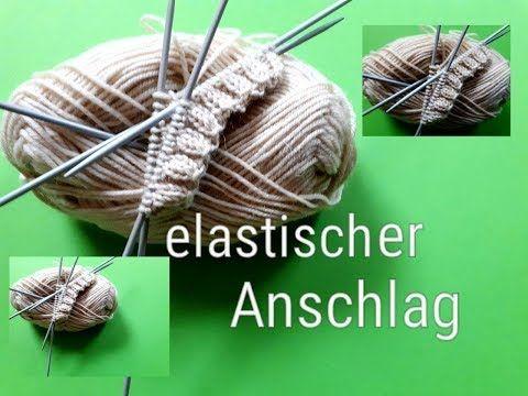 Photo of elastischer Stichanschlag, ideal zum Stricken von Socken mit perfektem runden Ende