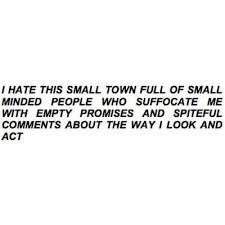 Small Town Life Quotes Gorgeous I Call My Town A Paper Town  S.a.d  Pinterest  Paper Towns
