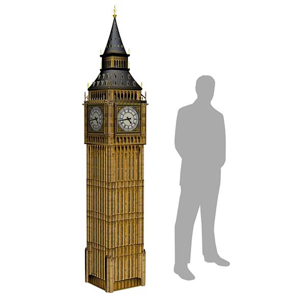 Big Ben Tower Prop Big Ben Props Around The Worlds