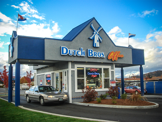 Dutch Brothers Coffee Stockton In 2020 Dutch Bros Drive Thru Coffee Dutch Bros Drinks