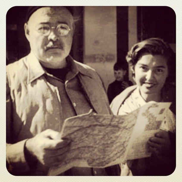 Fernanda Pivano e Ernest Hemingway #writers #stories