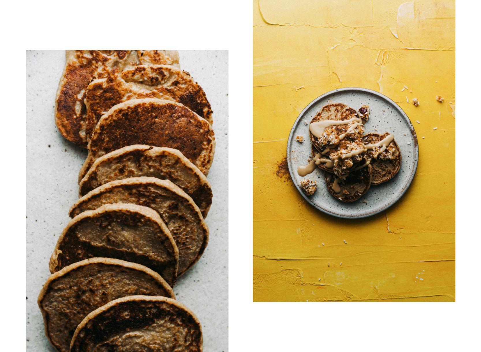 3-Zutaten-Pancakes – Voll gesund. Voll lecker! | Kichererb.se