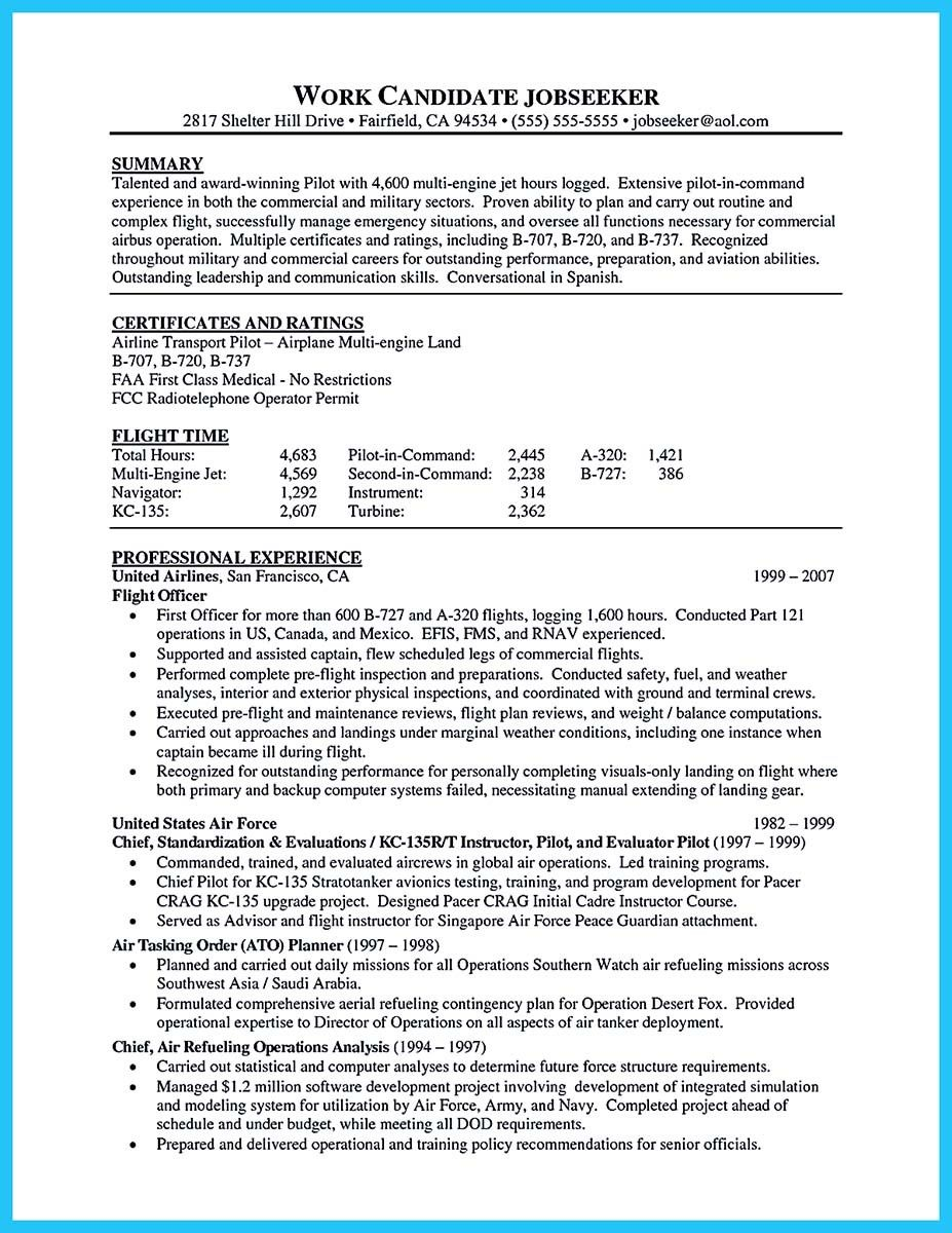 Cool Learning To Write A Great Aviation Resume Check More At Http Snefci Org Learning Write Great Aviation Resume Resume Template Resume Pilot