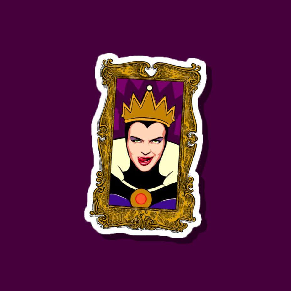 Details about  /One-of-a-kind Halloween Witch Sticker Portrait Sticker Portrait