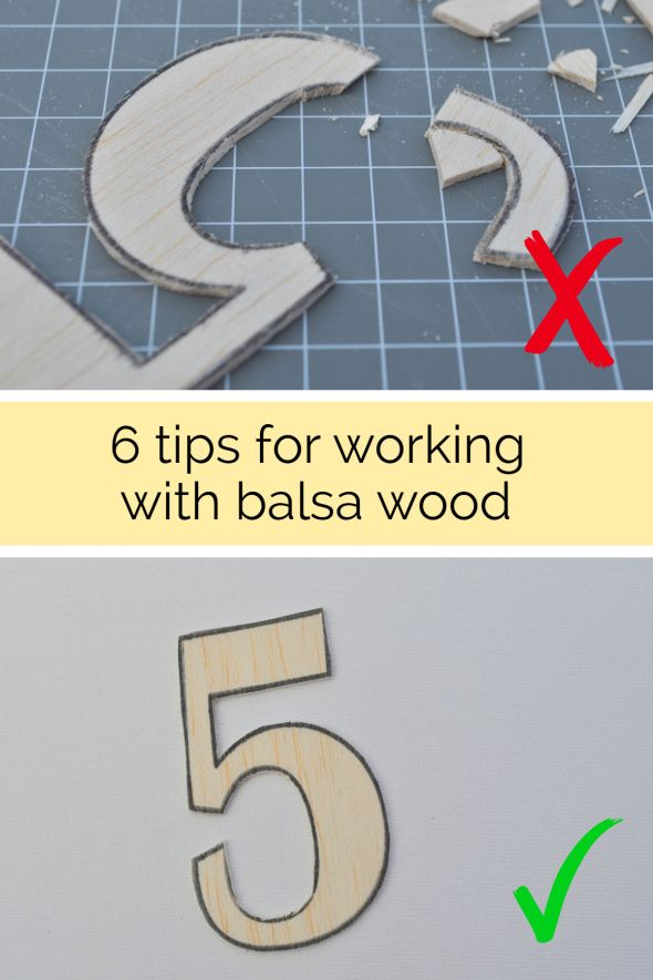 6 tips for working with balsa wood | Yes You Can Projects ...