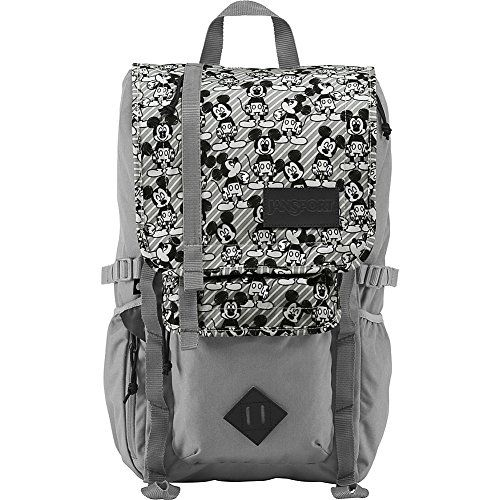 3cbd814d4c5 JanSport Disney Hatchet Laptop Backpack (Grey Rabbit Mickey Sketch ...