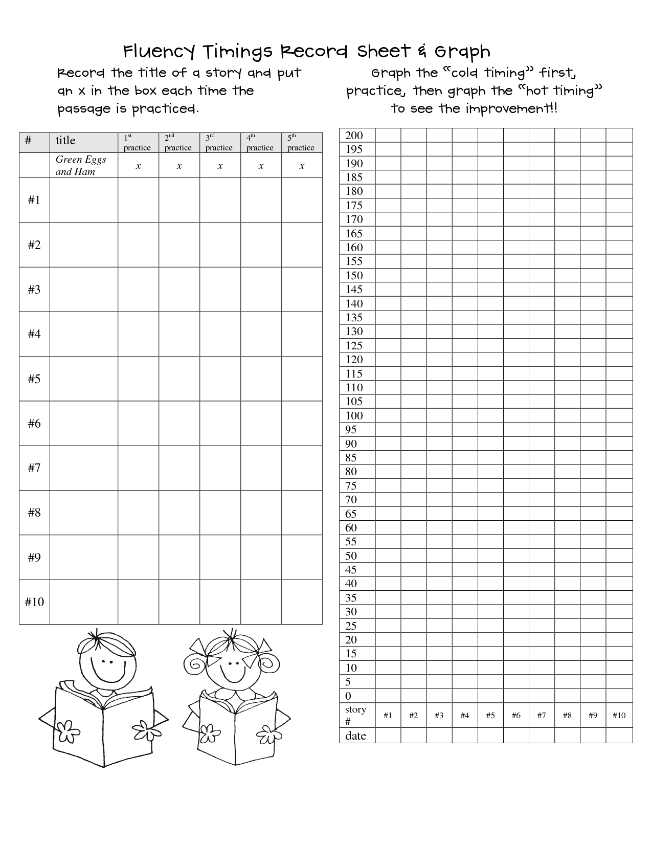 image about Fluency Graph Printable known as Looking through+Fluency+Graph+Printable do it yourself home furniture makeover