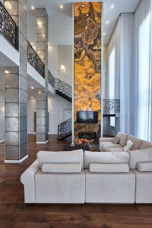 Quartz Panel Decor Living Room Decor Inspiration Onyx