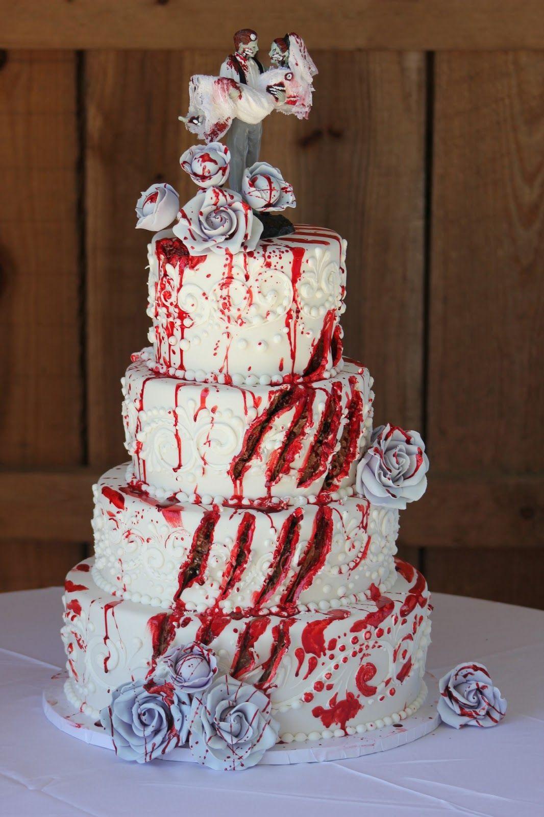 qu sangr n para ser de boda amazing cakes pinterest hochzeitstorte kuchen und halloween. Black Bedroom Furniture Sets. Home Design Ideas