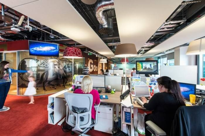 Im Silicon Valley sind es IT-Unternehmen die moderne #Büroarchitektur als Element für die Mitarbeiterzufriedenheit entdecken #Zeitreise http://solergo.li/2a3n67I