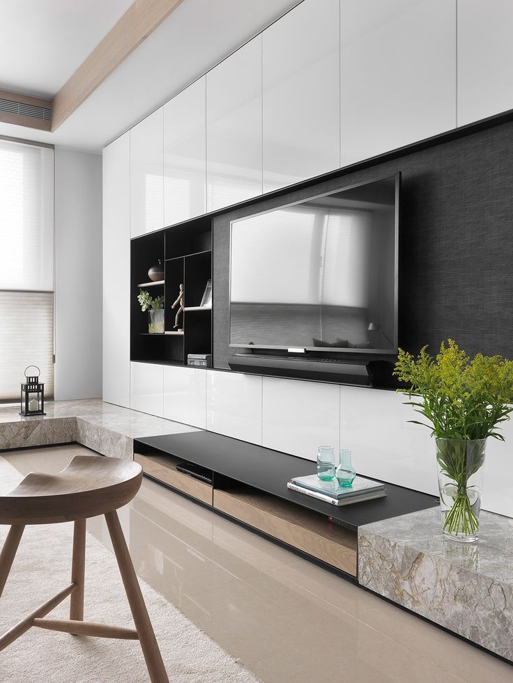 Image Result For Built In Tv Wall With Benches