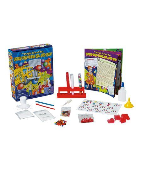 Young Scientists Club Magic School Bus Slime Gel Goop Set Zulily