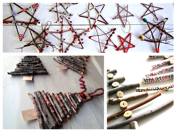 Christmas Decorations For 11 Year Olds To Make : Natural ornaments for you and the kids to make this