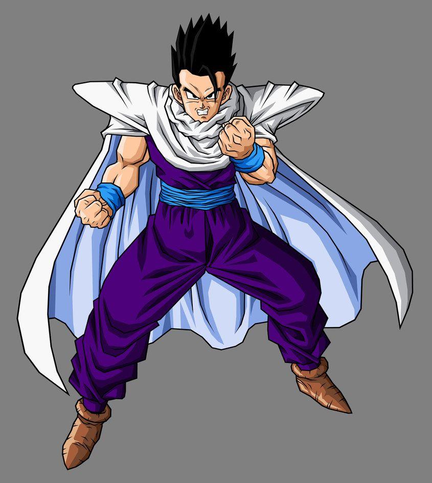 Mystic Gohan Cell Saga Outfit Anime Dragon Ball Dragon Ball Dragon Ball Super