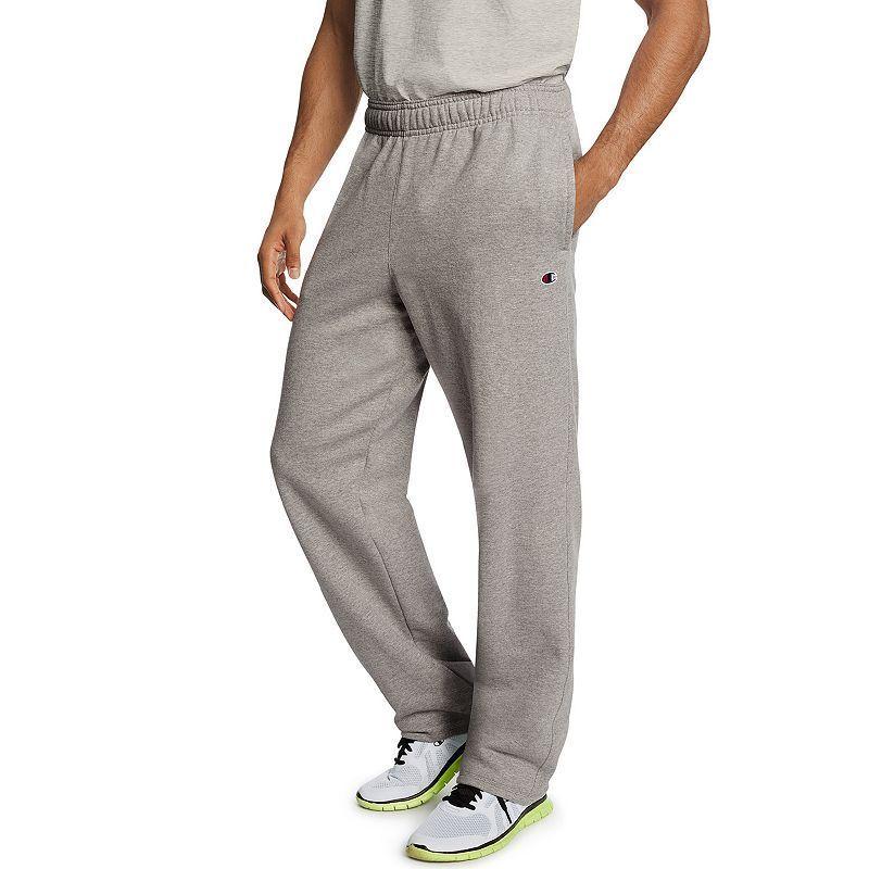 Men s Champion Fleece Powerblend Pants, Dark Grey   Products ... 592ce704d928
