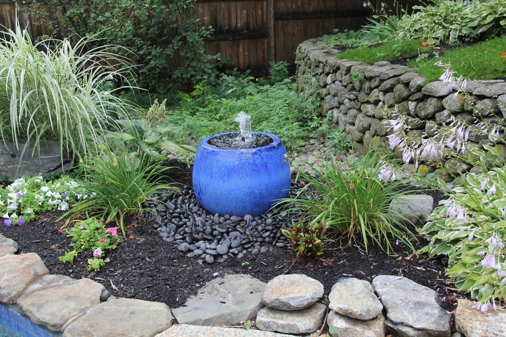 Diy Fountain Basin Concrete Garden Fountains Outdoor Diy Garden