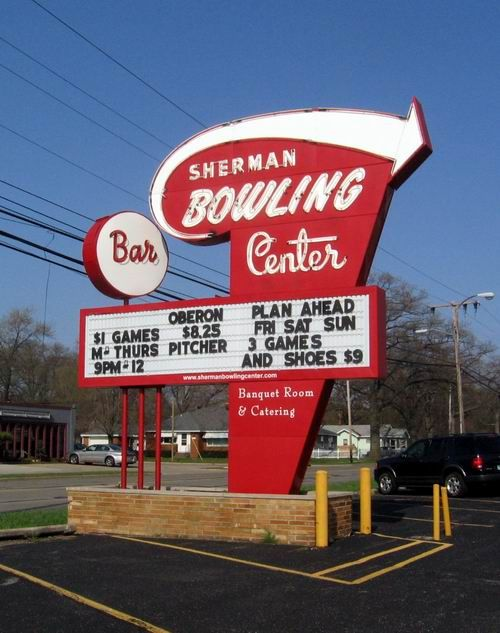 Sherman Bowling Center Muskegon Mi The Hard Workin
