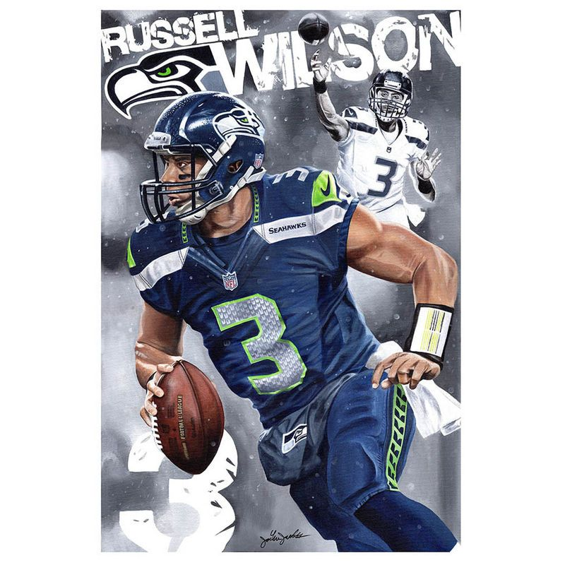 Russell Wilson Seattle Seahawks Deacon Jones Foundation 20