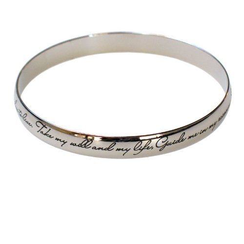 NA Narcotics Anonymous Third 3rd Step Prayer Bangle Bracelet *** Check out the image by visiting the link.(This is an Amazon affiliate link)